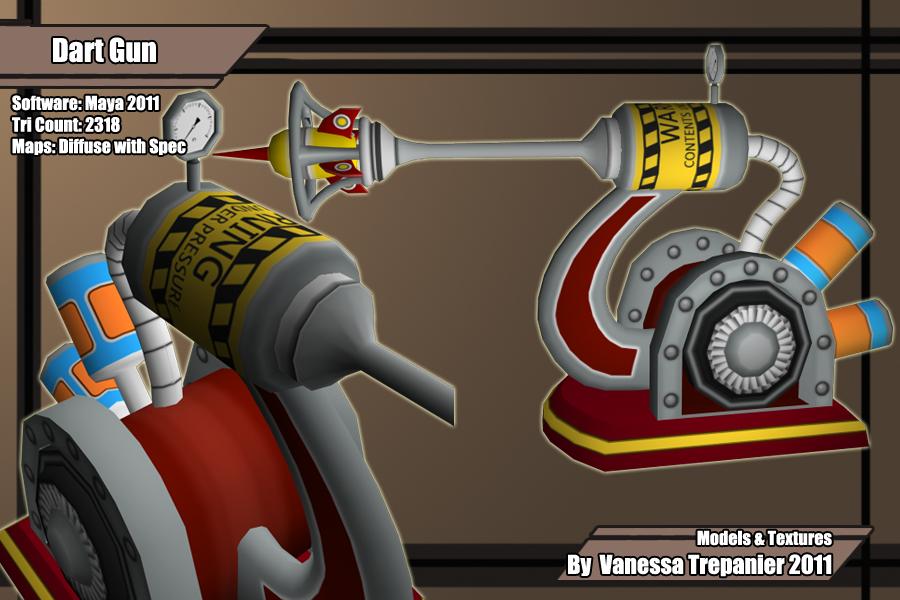 Air gun weapon.