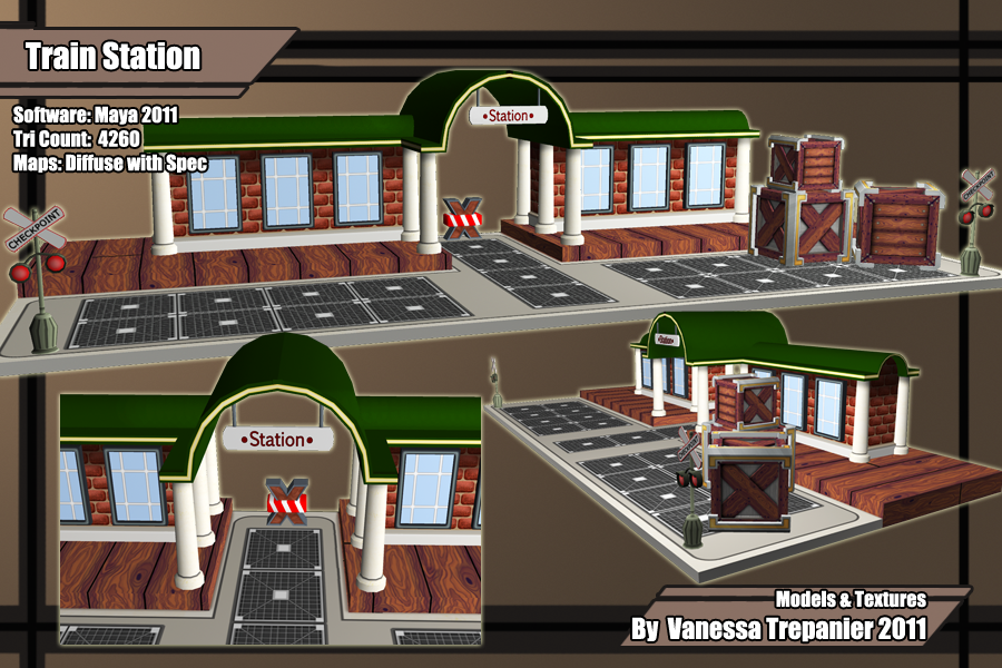 Train station concept.